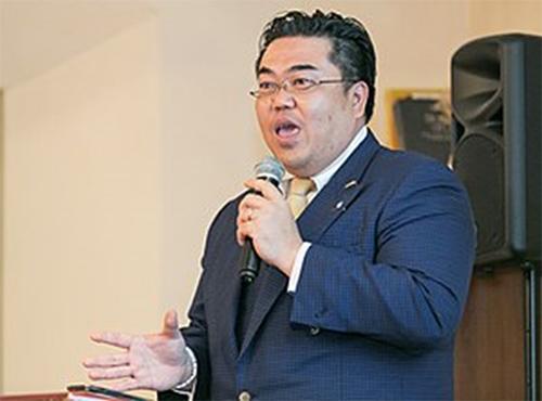 株式会社横引シャッター 代表取締役 市川 慎次郎様